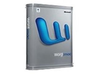 Microsoft Word 2004 für Mac -
