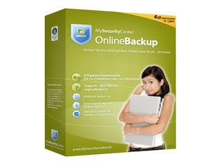 MySecurityCenter Online Backup 4GB -