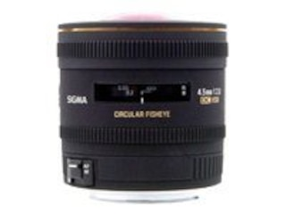 Sigma 4.5mm f/2.8 DC HSM Minolta A-type -
