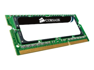 Corsair DDR 1GB Value Select SO-DIMM 400MHz, CL3, 200Pin PC3200 DDR CL2.5-3-3-7-2T -