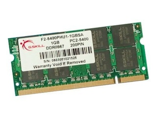 G.Skill DDR2 1GB SO-DIMM 667MHz, PC2-5300, CL5 -