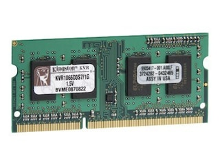 Kingston DDR3 1GB ValueRAM SO-DIMM 1066MHz, CL7, 128Mx64, 204pin -