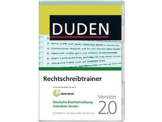 Bibliographisches Institut & F.A. Brockhaus Duden Rechtschreibtrainer für Windows -