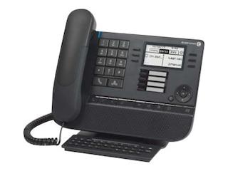 Alcatel-Lucent 8028s DE Premium Tischtelefon Moon Grey -