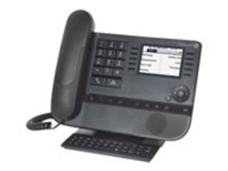 Alcatel-Lucent 8039s DE Premium Tischtelefon Moon Grey -
