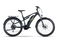 Raymon CrossRay E FS 4.0 Trekking-Bike Schwarz Modell 2021 (4061453021307)