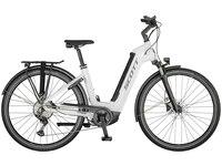 Scott Sub Sport eRIDE 10 Unisex Cross-Bikes Weiß Modell 2021 (7615523135356)