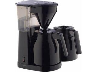 Melitta Easy II Therm + 2. Kanne Kaffeeautomat mit Thermokanne schwarz -