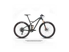 Niner Rkt 9 Rdo X01 Eagle Axs 29 2021 Mtb Fahrrad L Satin Carbon / Magnetic Grey