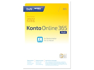 Buhl Data Service WISO Konto Online Plus 365 (Version 2022) -