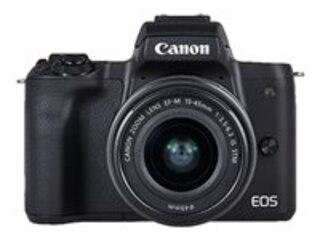 Canon EOS M50 + EF-M 3,5-6,3/15-45 IS STM - Vlogger Kit für Einsteiger -