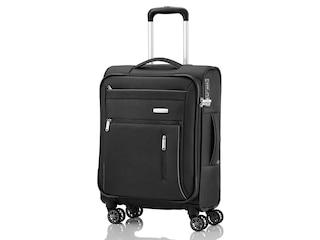 Travelite Capri 4-Rollen Trolley S Schwarz -