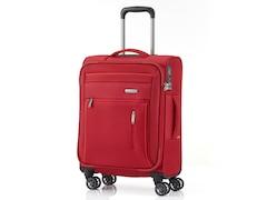 Travelite Capri 4-Rollen Trolley S Rot
