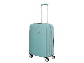 Travelite Kalisto 4-Rollen Trolley M Aqua -