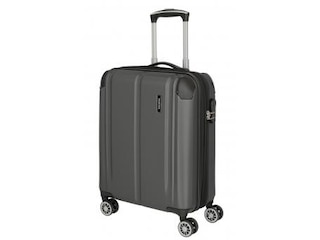 Travelite City 4-Rollen Bordtrolley S EXP Anthrazit -