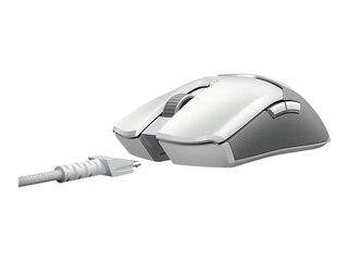 Razer Viper Ultimate mit Ladestation Gaming-Maus Mercury weiß (RZ01-03050400-R3M1) -