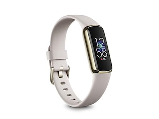 Fitbit Luxe softgold/weiß -