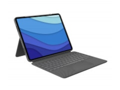 Logitech Combo Touch iPad Pro 12.9 Tablet-Tastatur DE Oxford Grey (920-010208)