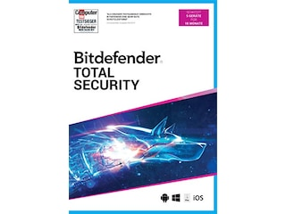 Bitdefender Total Security 2021 - 5 Geräte - 18 Monate -