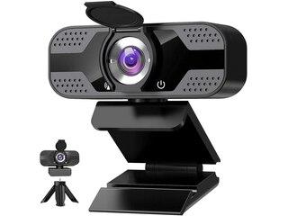 IVSO Webcam mit Privacy Shutter & Webcam Stativ -
