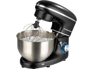 Gourmetmaxx 03550 Küchenmaschine 1500W schwarz, ddelstahl -