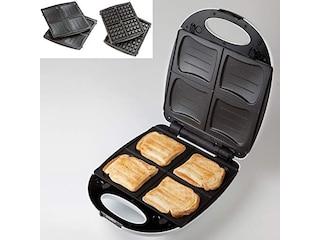 Domo DO9046C Familien-Sandwichmaker weiß -