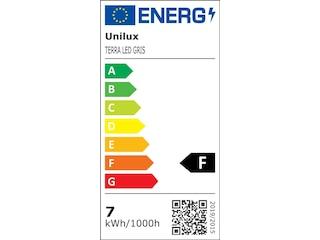 Unilux Terra Lamp LED Metal grey/Black Eu -