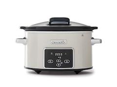 Crock Pot CSC060X Digital-Schongarer Slow Cooker mit Scharnierdeckel