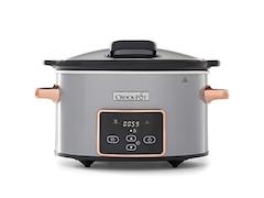 Crock Pot CSC059X Digital-Schongarer Slow Cooker mit Scharnierdeckel