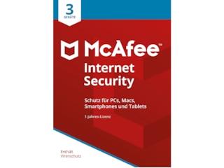McAfee Internet Security 2022 3 Geräte -