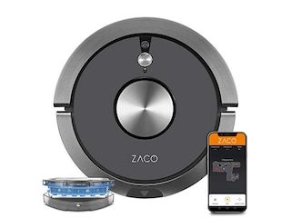 Zaco 501905 A9sPro mit Wischfunktion Metallic Grey -