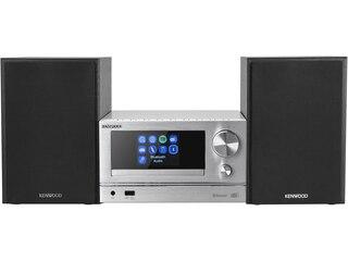 Kenwood M-7000S Microanlage silber -
