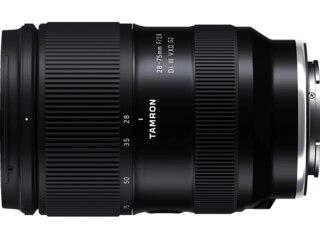Tamron VXD G2 28 mm - 75 f./2.8 Di III (Objektiv für Sony E-Mount, Schwarz) -