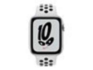 Apple Watch Nike SE, GPS & Cellular, 44 mm, Alu. silber, Sportb. platin./schwa. -