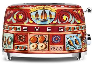 Smeg TSF01DGEU Dolce & Gabbana Kompakt-Toaster dekor -