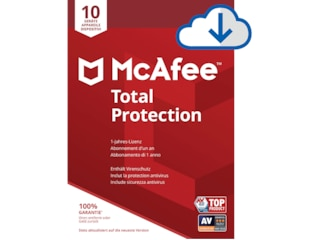 McAfee Total Protection 10-Device Attach -