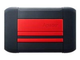 Apacer AC633 1 TB schwarz/rot, SuperSpeed USB 3.2 Gen 1, 2,5'' (AP1TBAC633R-1) -