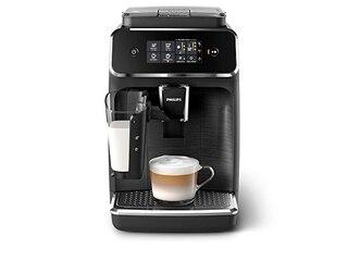 Philips 2200 Serie EP2232/40 Kaffeevollautomat matt-schwarz/schwarz-gebürstet -