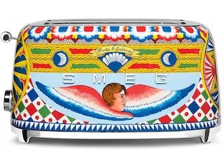 Smeg TSF02DGEU Dolce & Gabbana Langschlitz-Toaster dekor -