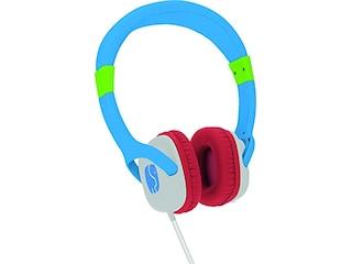 TechniSat TECHNIFANT HÖRCHEN Kabelgebundener Kopfhörer, Blau/Weiß/Rot -