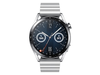 Huawei WATCH GT 3 46mm Stainless Steel [3,63cm (1,43'') AMOLED Display, Bluetooth 5.2, GPS, 5 ATM] -