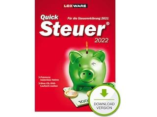 Lexware QuickSteuer 2022 (für Steuerjahr 2021) (PC, Win) -