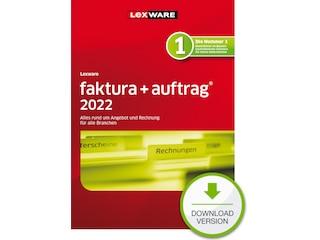 Lexware faktura+auftrag 2022 - 365 Tage (PC, Win) -