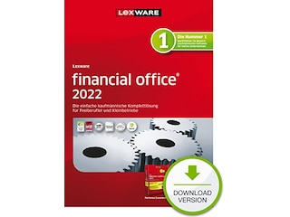 Lexware financial office 2022 - 365 Tage (PC, Win) -