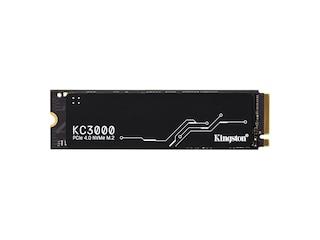 Kingston KC3000 4096 GB, SSD schwarz, PCIe 4.0 x4, NVMe, M.2 2280 (SKC3000D/4096G) -