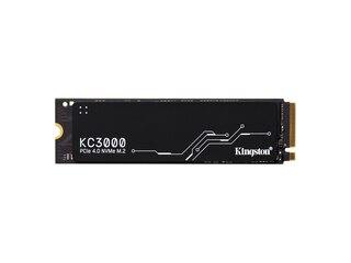 Kingston KC3000 1024 GB, SSD schwarz, PCIe 4.0 x4, NVMe, M.2 2280 (SKC3000S/1024G) -