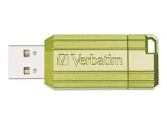 Verbatim Store 'n' Go Pinstripe Grün 16GB (49070)