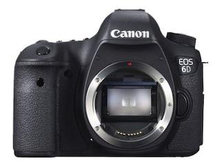 Canon EOS 6D Body schwarz -