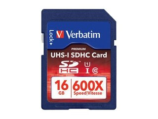Verbatim SDHC UHS-I Class10 16GB (49191) -