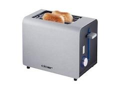 Cloer 3519 Toaster matt alu